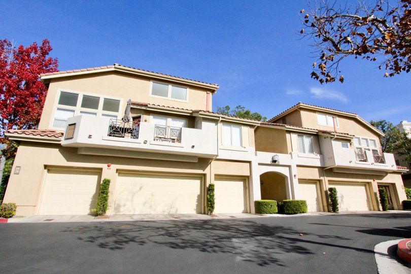 Attached condos in Cabo Vista in Rancho Santa Margarita CA