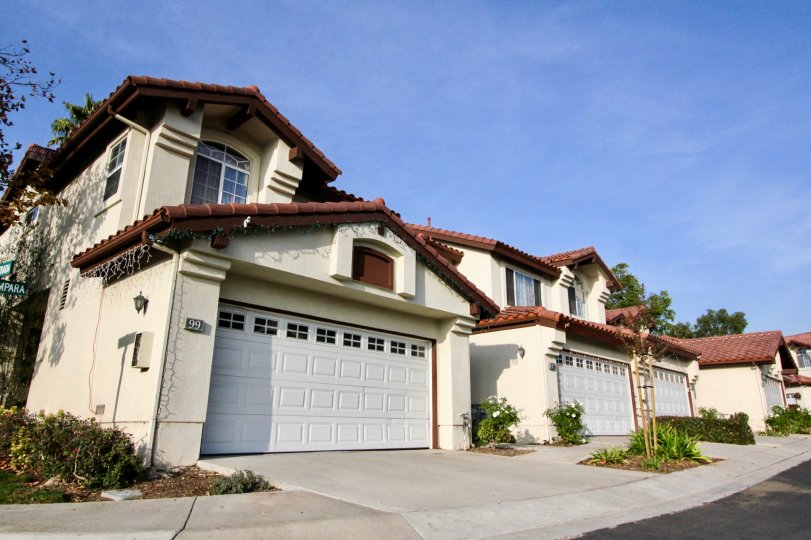 A sunny dat at Candelero Community in Rancho Santa Margarita, California