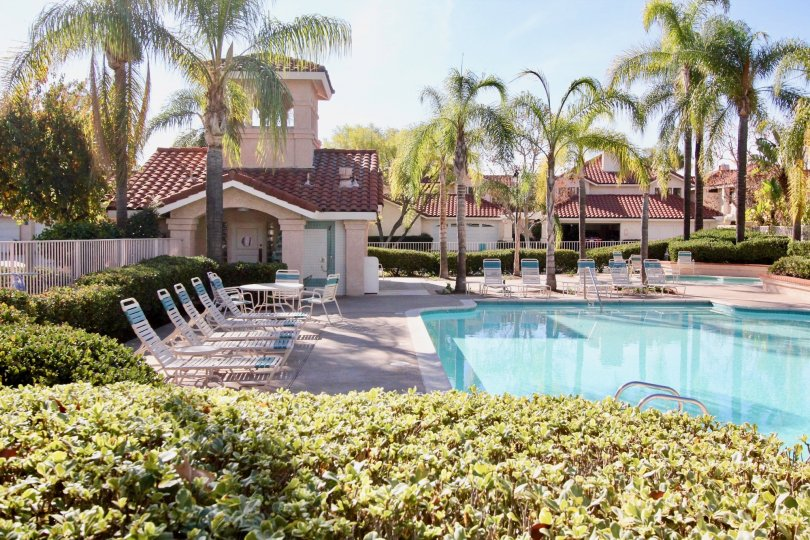 the floramar is a wonderful swimming pool of the rancho santa margarita city in ca