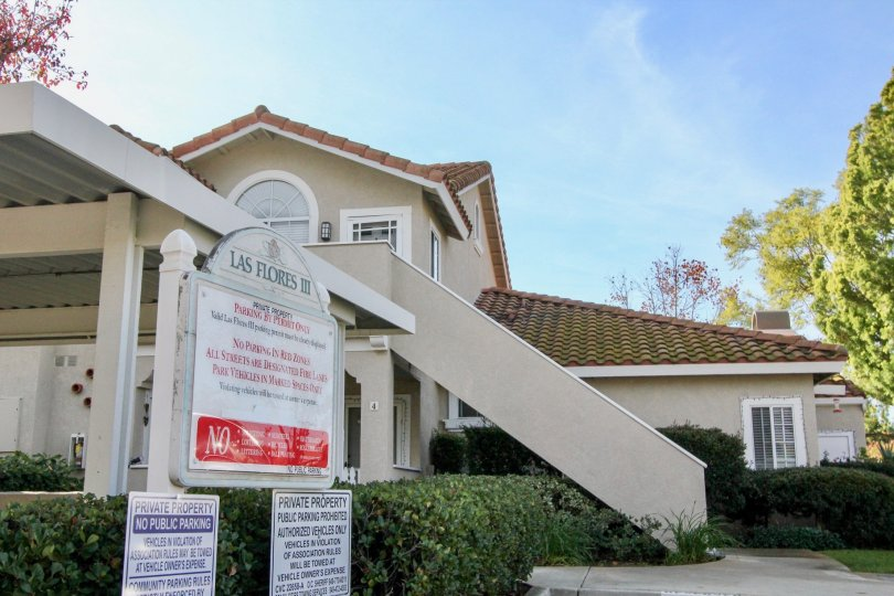 Fabullous Villa with signboard and trees with steps in Las Flores of Rancho Santa Margarita
