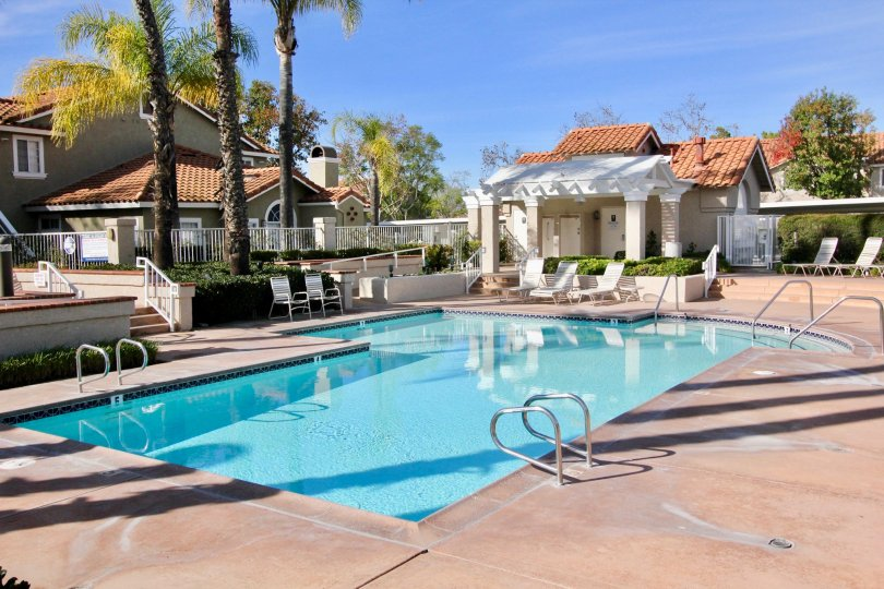 Relaxed living in the Las Flores community in Rancho Santa Margarita, California.