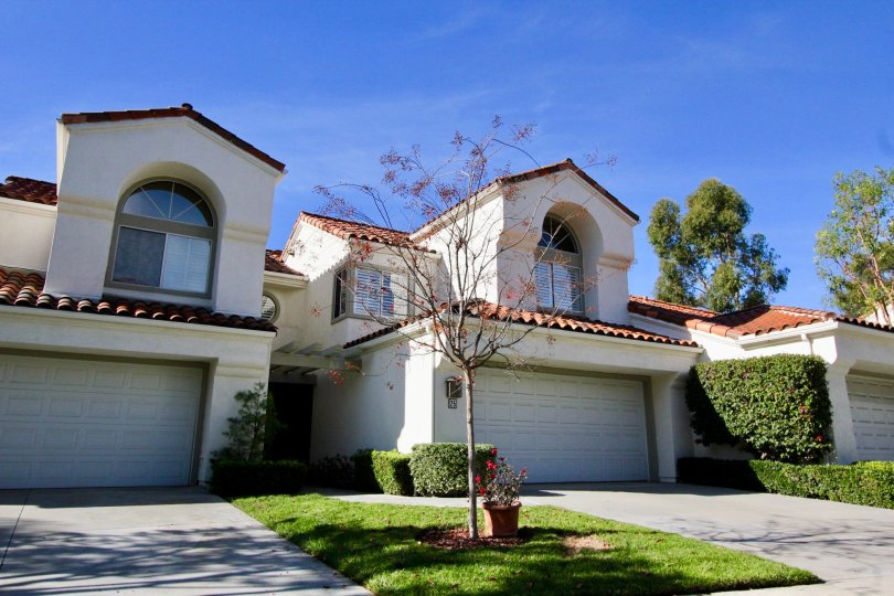 Plenty of curb appeal in the Marbella community in Rancho Santa Margarita, California.