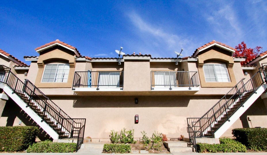 Double condos in Mission Courts in Rancho Santa Margaritia, CA