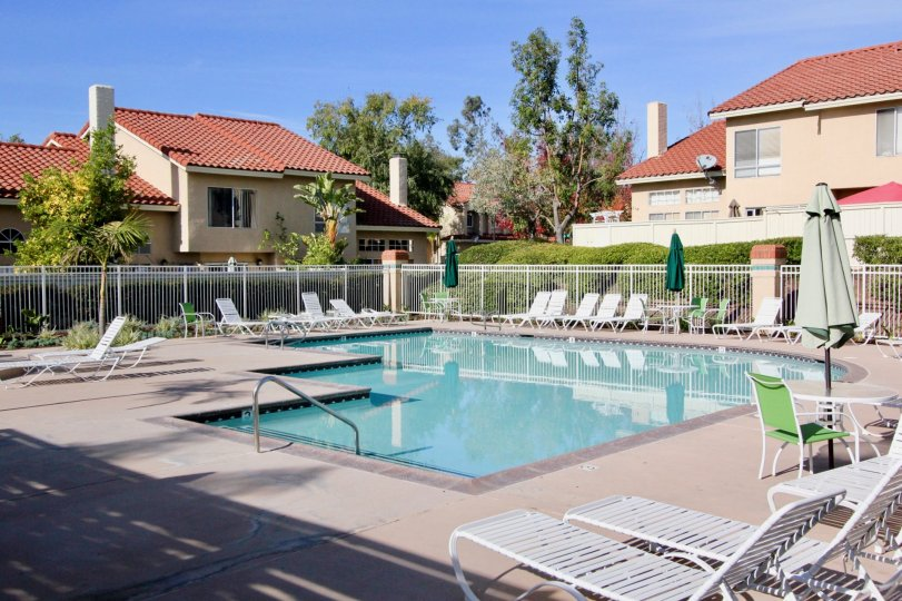 A large pool in Mission Greens in Rancho Santa Margarita, CA