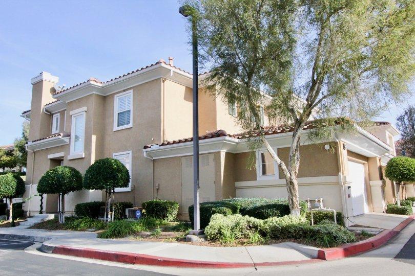 Well maintained community of Terracina in Rancho Santa Margarita, California.