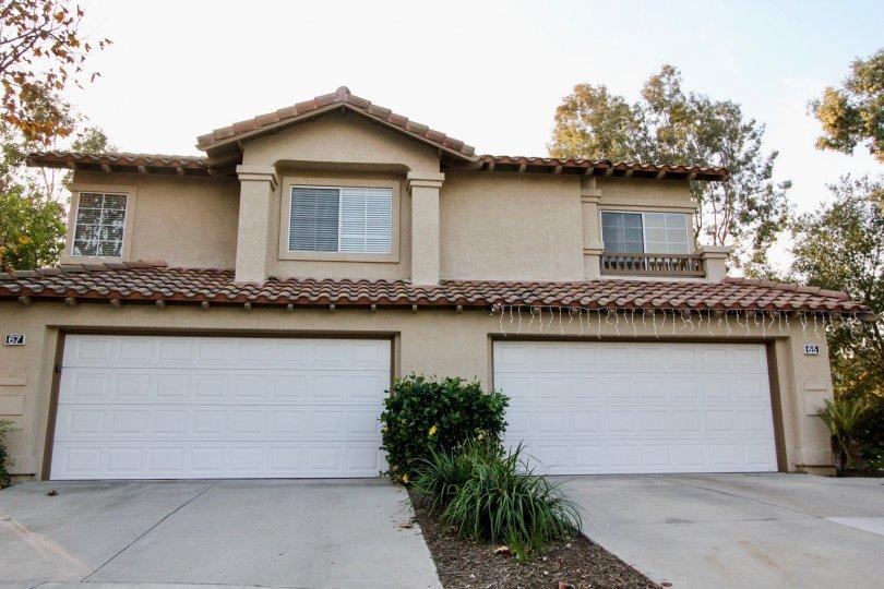 A dual condo house in Tierra Linda in Rancho Santa Margarita, CA