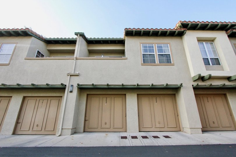 Well built villa with ample of parking and wooden doors in Tijeras Creek Villas of Rancho Santa Margarita