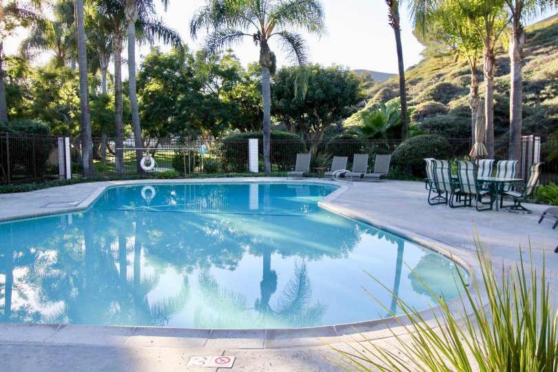 The Casablanca in the San Clemente with a swimming pool and garden