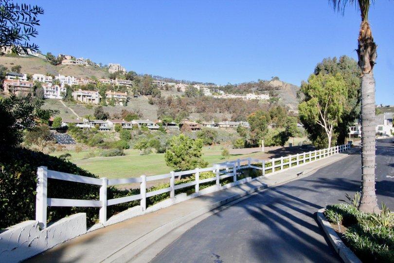 Hill houses in Las Marias, San Clemente California