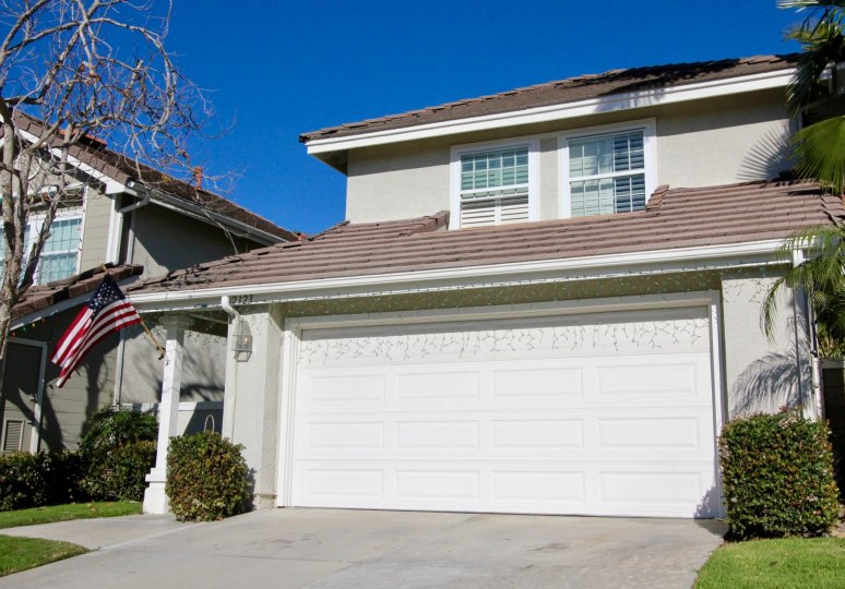 Patriotic New Providence villa in San Clemente California