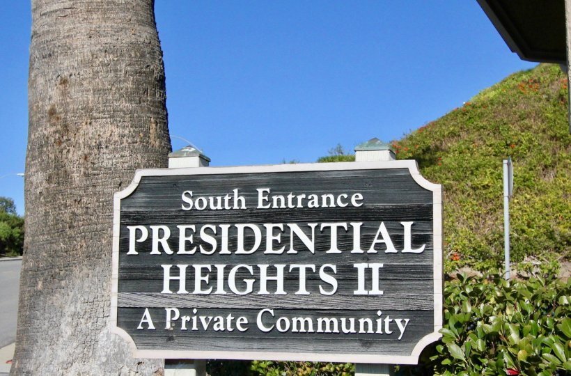 "Presidential Heights is located in the San Clemente Southeast area of San Clemente, California. Presidential Heights condos can be found on ""Avenida Adobe"" and ""Avenida Baja"" streets with select condos offering beautiful views of the Pacific Ocean. There"