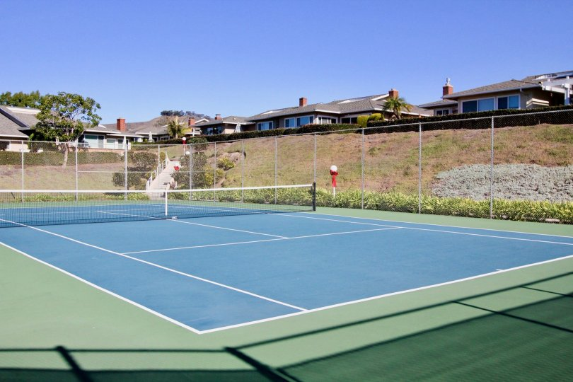 Seascape Village is under a homeowners association with monthly dues required which include a nice community pool, spa, tennis court, clubhouse and water.