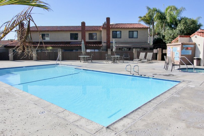 A Formal House Containing Medium Size Swimming Pool in city of San Clemente.