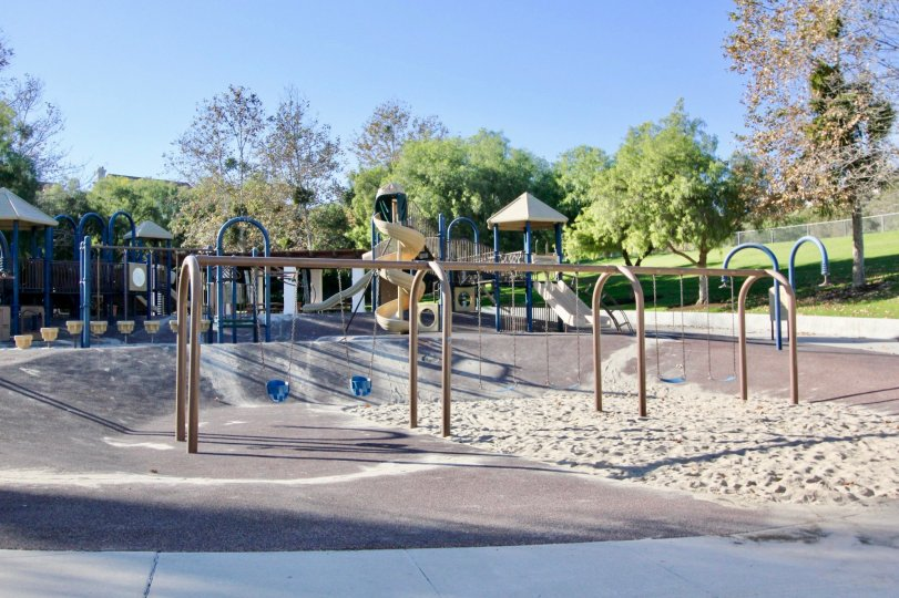 The Trinidad in the San Clemente with the garden and children's picnic park