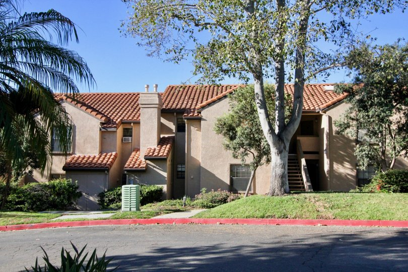 attached homes at Vista Pacifica in San Clemente, California