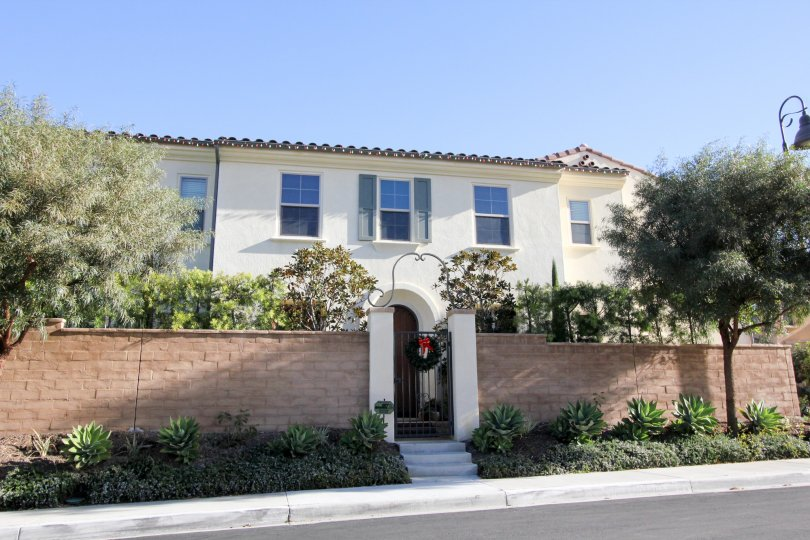 A sunny day at Campanilla Community in San Juan Capistrano, California