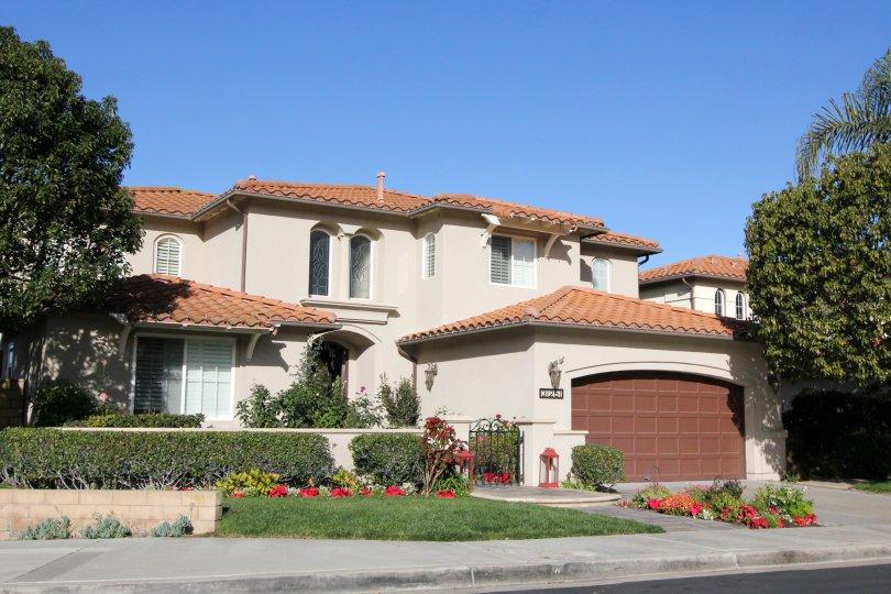 Driveway and home in Campanilla in San Juan Capistrano, CA