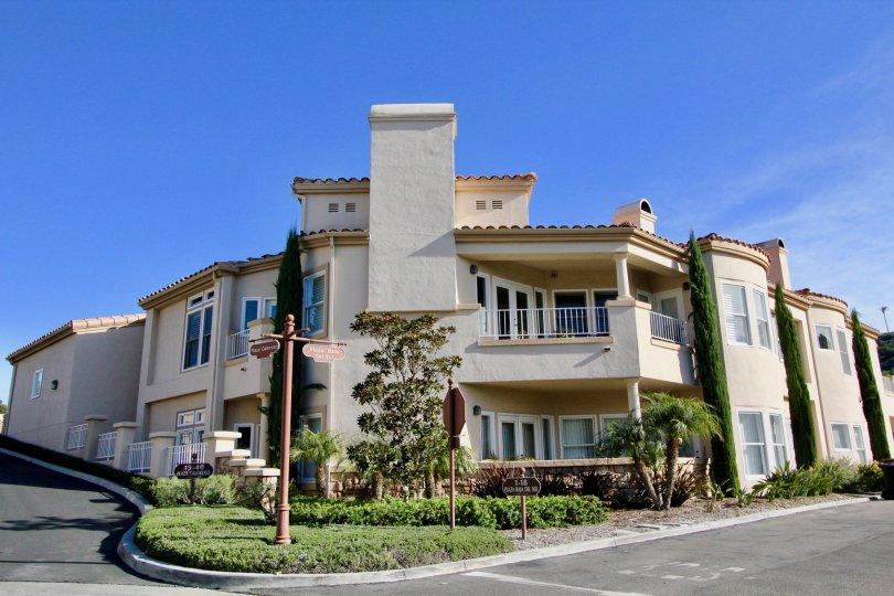 A sunny day at Marbella Golf Villas in San Juan Capistrano, California.