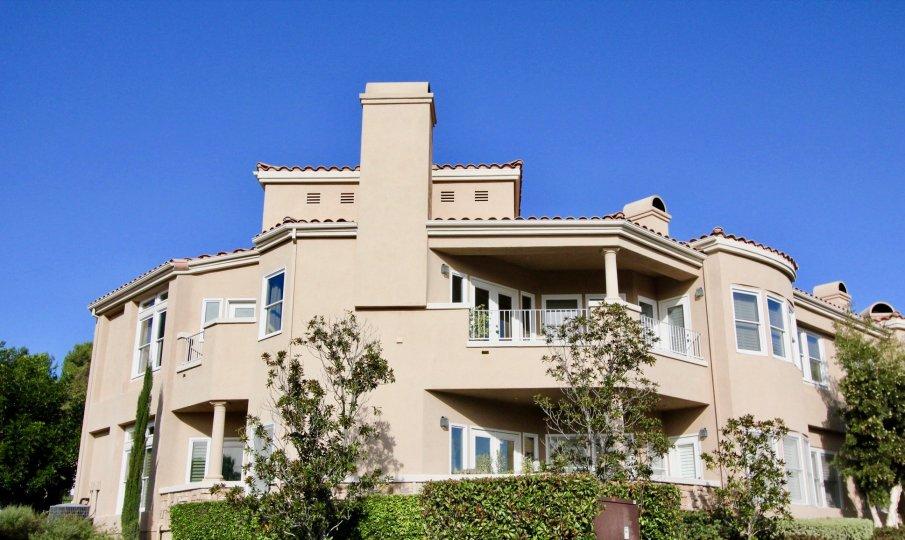 Splended architectural design adorns the presigious Marabella Golf Villas community