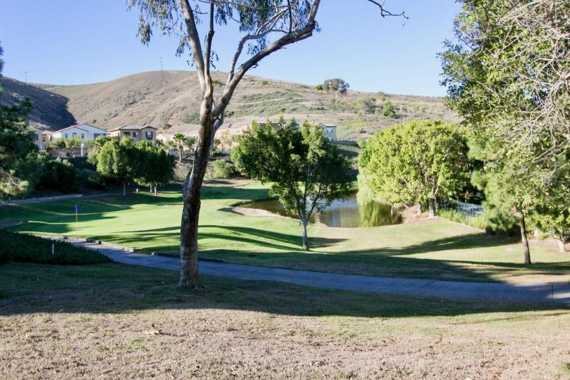 Golf course in theMasters in San Juan Capistrano, CA