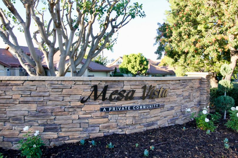 The entrance to the Mesa Vista South private community in San Juan Capistrano