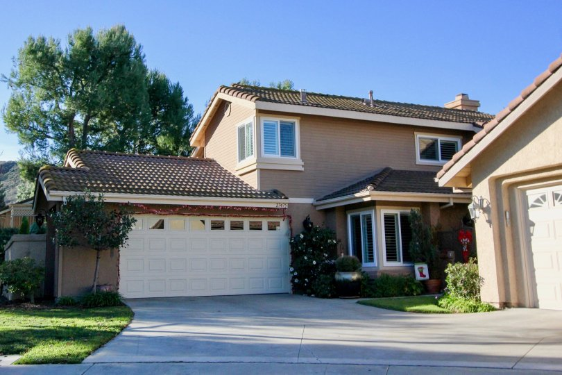 A beautiful day in the San Juan Capistrano residential community of Mesa Vista South