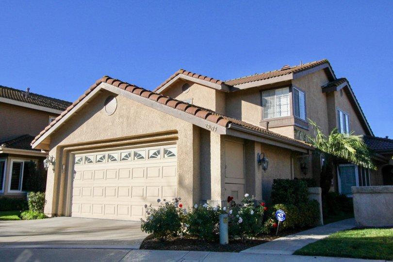 Lawn and clear skies at Mesa Vista South in San Juan Capistrano, CA