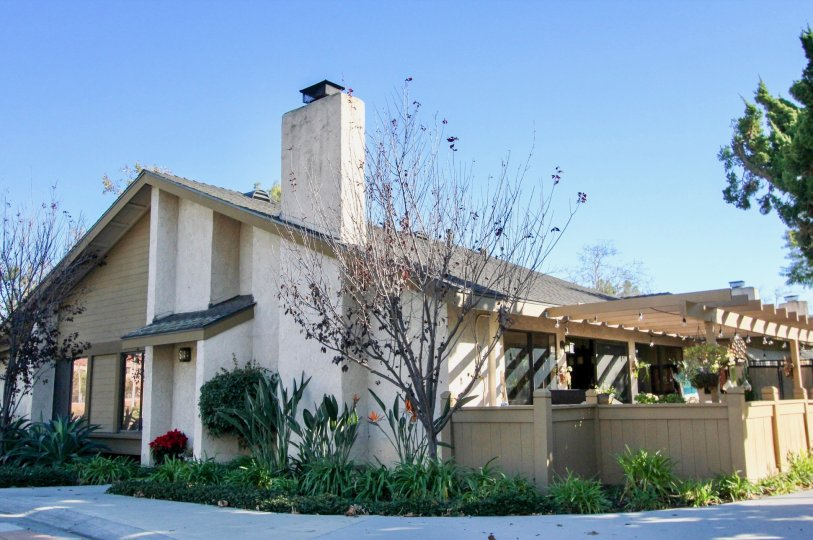 the mission Point is a point out house of the san juan capistrano city in california