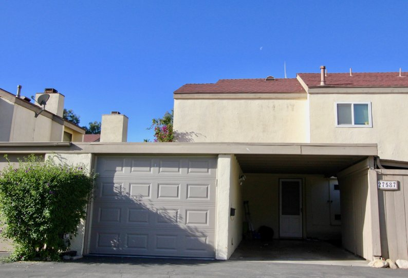 Townhouse in San Juan Capistrano, California. Community of Sun Hallow