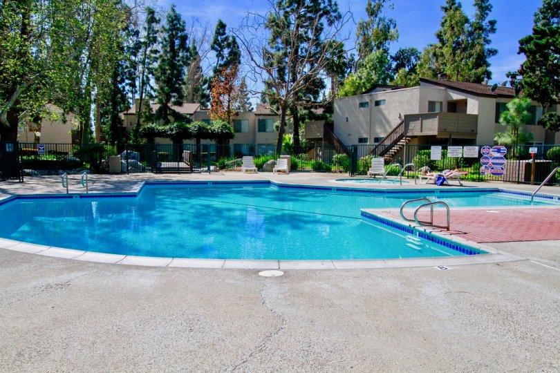 Cabrillo Park Apartments Pool Santa Ana California