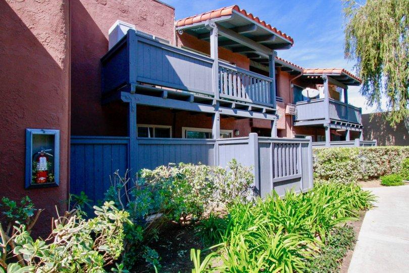 Monterey Villas Building Front View Beautiful Location at Santa Ana city in Califorina