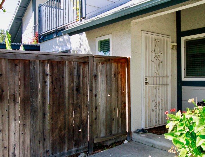 Outside building near mountain view in Santa Ana, California