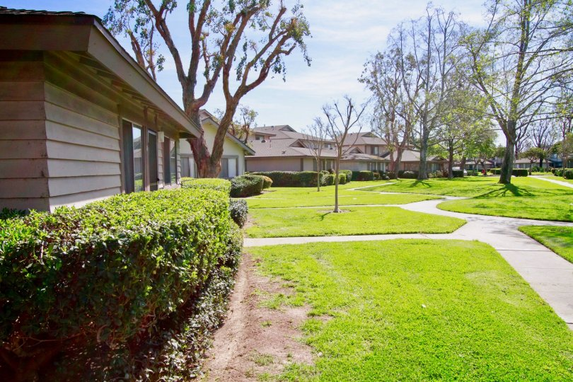 Normandy Place with Green Park Attractive Location at Santa Ana city in Califorina