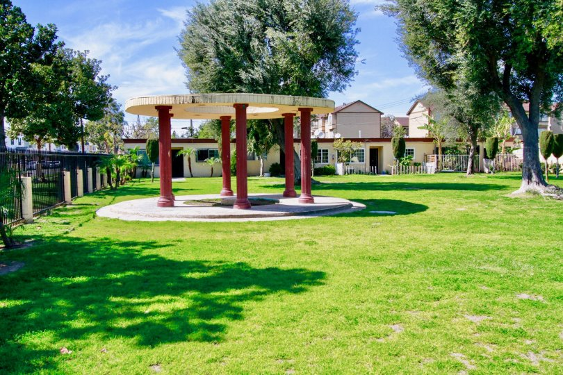 Village Gardens have Beautiful Green Park Location at Santa Ana city in Califorina