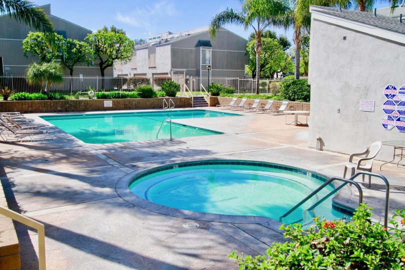 Village Walk House Building have Beautiful Pool Location at Santa Ana city in Califorina