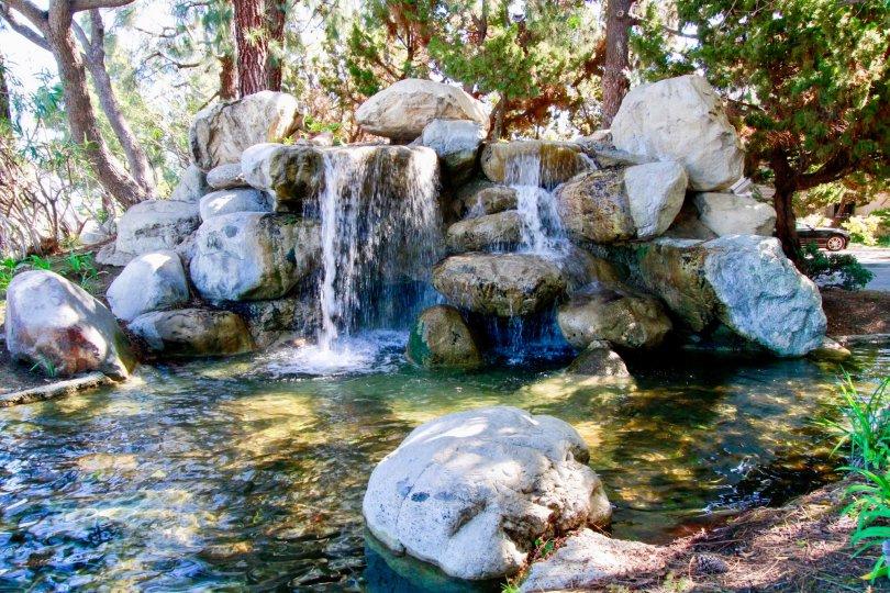 A sunny day in the Woodlake neighborhood of Santa Ana, CA.
