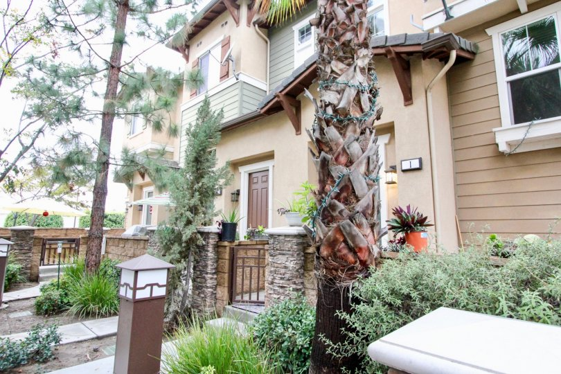 Beautifully maintained community of Arbor Walk in Tustin, California.