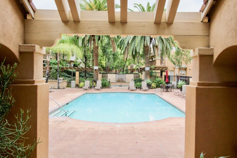 Leisure living in the community of Cantada in Tustin, California.