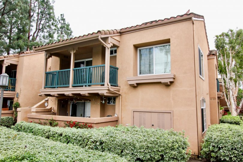 Multi family housing units with Balconies or patios in the community of Mandevilla in Tustin, California
