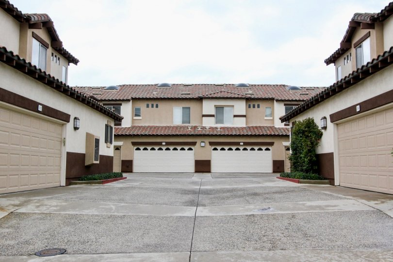 Tustin, California. Community living Orchads. Double garage and spacious living arrangements.