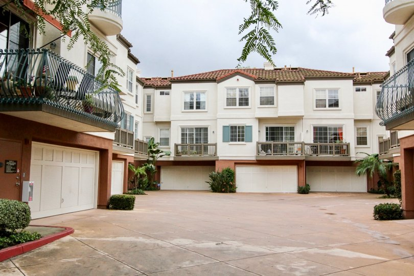 Beautiful apartment with garages underneath in the Tustin Del Verde community.
