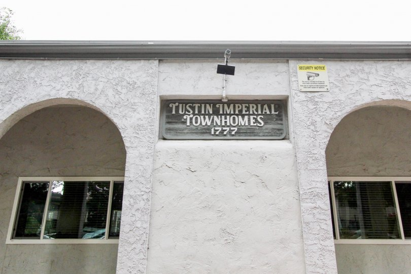 the imperial is a townhomes of the tustin city in california state