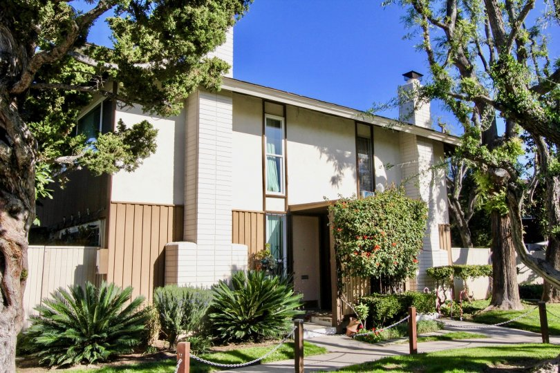 the tustin village is a combined house of the tustin city in california