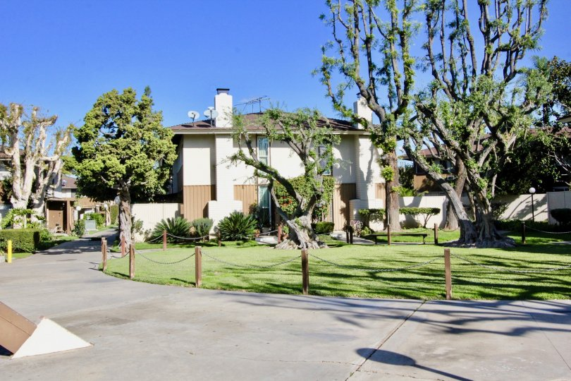 the tustin village is a rural side house of the tustin city in california