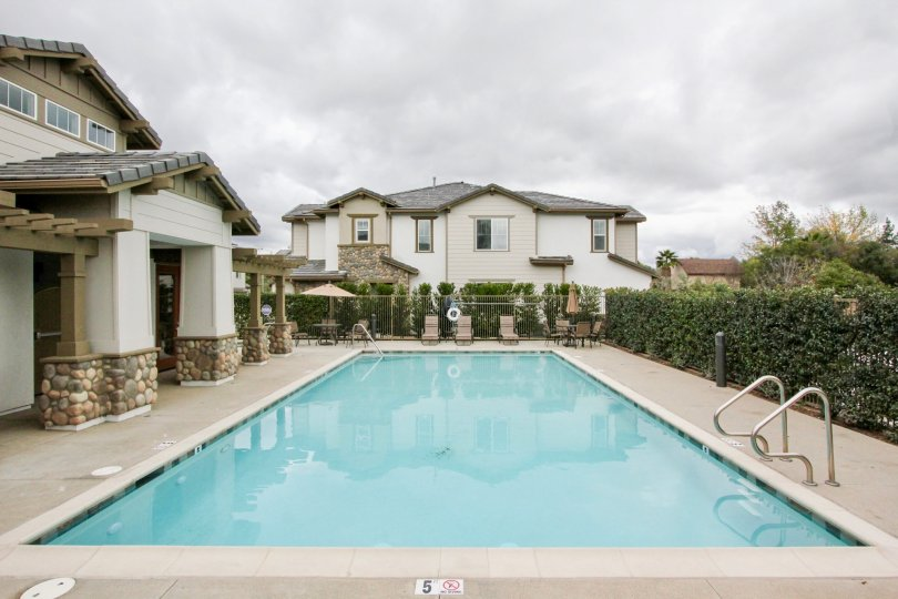 Covington Classics Yorba Linda California with perfect building technology and amazing swimming pool in it
