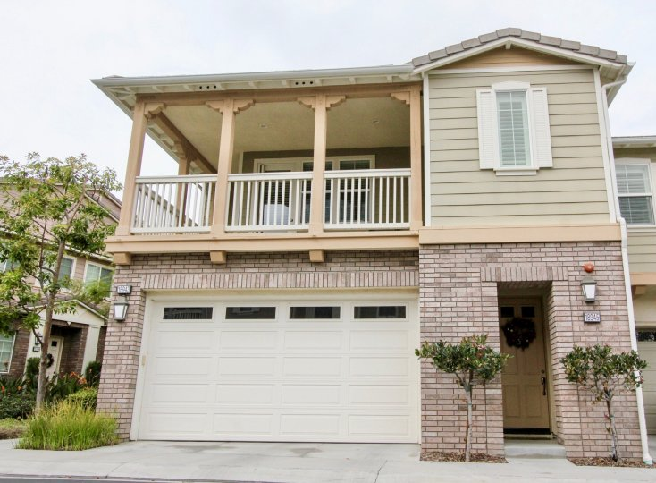 A beautiful home with attached garage in San Lorenzo Community, in Yorba Linda, California