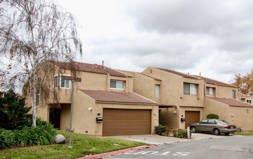 An image of two similiar looking homes in Yorba Linda Knolls, Yorba Linda California