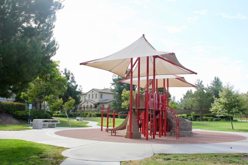 Out door recreational area at Tamarack Community, temecula, California