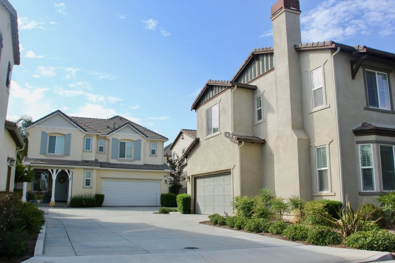 talk buildings and clear blue sky of Tamarack, Temecula, California
