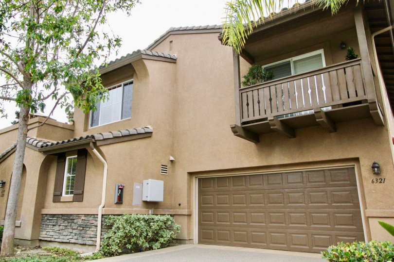 A cozy two story town home with attached garage at Brindisi in Carlsbad CA